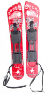 Kneissl Big Foot Skiboards with bindings