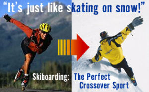 just like skating - skiboards.com skaters page