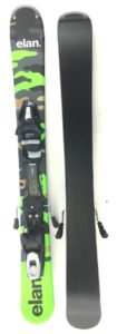 Elan Freeline Camo 125cm Skiboards Step-in Release Bindings