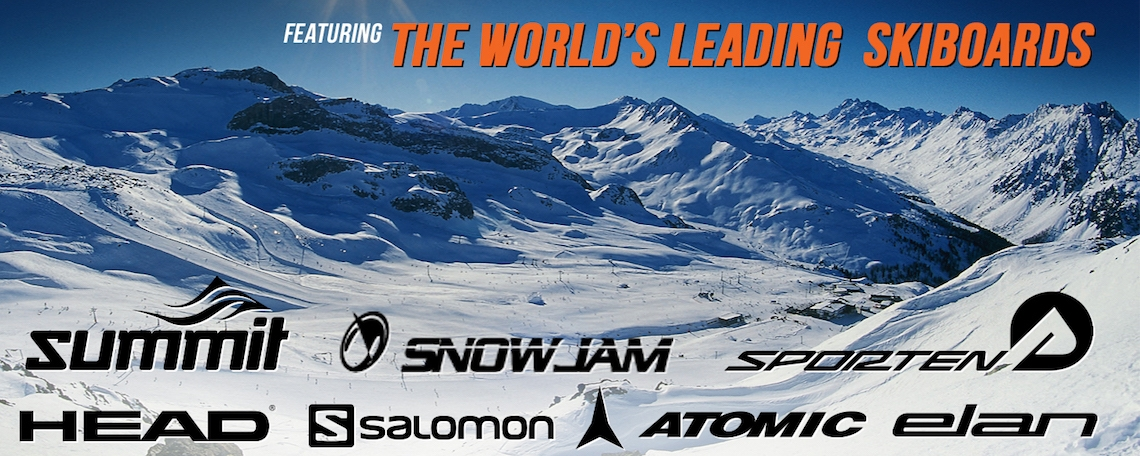 Summit EZ 95 cm Skiboards Skiblades 2019 Easy Skis