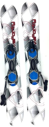 Snowjam 75cm Phenom Skiboards w. Non-release ski boot bindings 2018