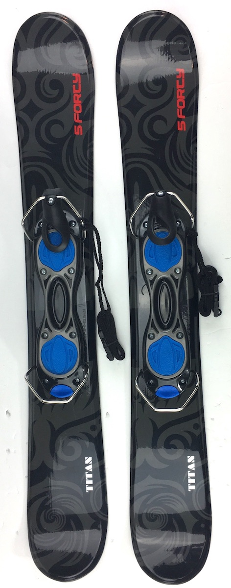 Snowjam Five-Forty Titan 90cm Snowblades With Bindings 2018