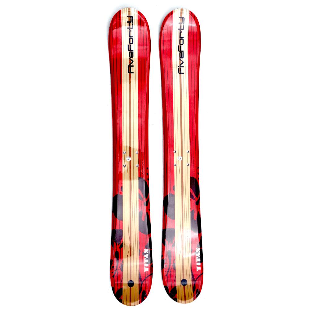 Snowjam 75cm Titan Skiboards W.Atomic Ski Bindings 2019