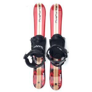 Snowjam 90cm Titan Skiboards w. Snowboard bindings 2019