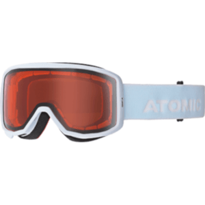 Atomic Count Junior Kid's Goggles White Frame/Orange Lens