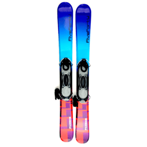 Snowjam Five-Forty Panzer 99cm Snowblades with Fixed Ski Boot Bindings