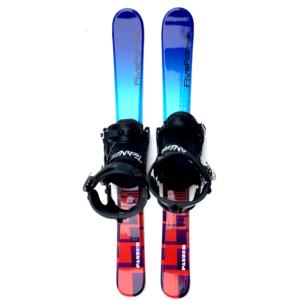 Snowjam Panzer 99cm Skiboards w. Technine Snowboard Bindings