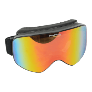 540 Snowjam Styleman Orange Mirrored Black Frame Goggles