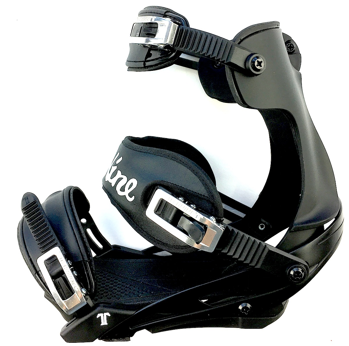 Technine Custom Pro DS Snowboard Bindings for Skiboards