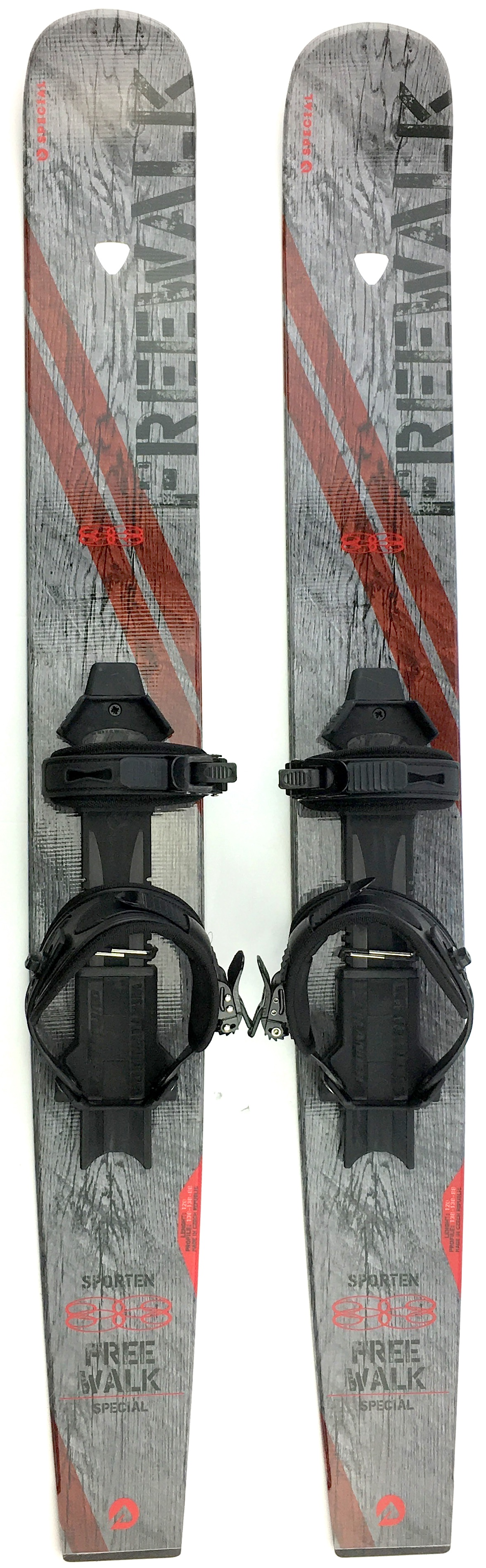 Sporten Free Walk Backcountry XC Skiboards with Skins