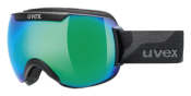 Uvex Downhill 2000 Black Mat/Mirror Green Goggles