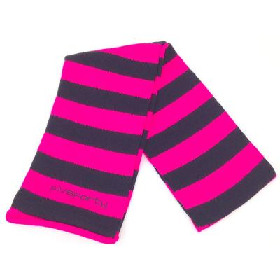 pink ski scarf by five forty