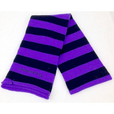 purple ski scarf by five forty