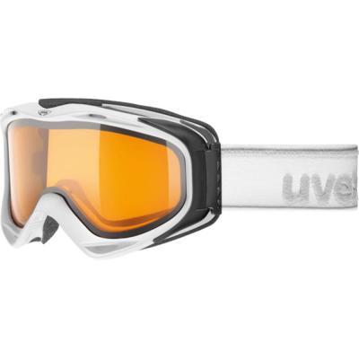 Uvex G.GL 300 White Mat/Goldlite OTG Goggles