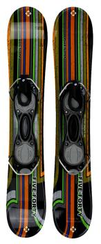 Snowjam 75cm Phenom Skiboards w. bindings