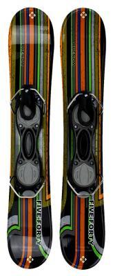 Snowjam 75cm Phenom Skiboards w. bindings