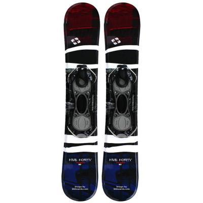 Snowjam 90cm Panzer Skiboards w. bindings