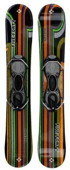 Snowjam 90cm Phenom Skiboards w. bindings