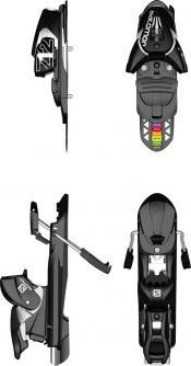 Salomon Z12 Performance Adjustable Ski Release Bindings