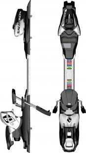 salomon L7 Ski Release Bindings
