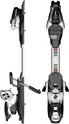 salomon L7 Ski Release Bindings