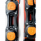 Sporten Artis 99cm Skiboards snowblades with Fixed Ski Boot Bindings bindings