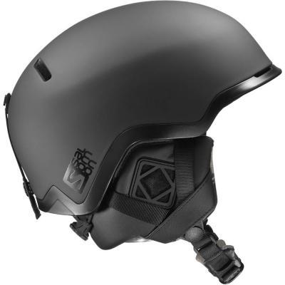 Salomon Hacker Ski Snowboard Helmet Black