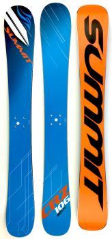 Summit CRZ 106 cm 3D Rocker Skiboards