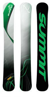 Summit Source NRG 96 cm 3D Rocker Skiboards