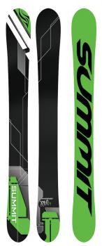 Summit Invertigo 118cm 3D Rocker/Camber Skiboards 2018