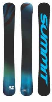 Summit Source NRG-Trick 96 cm 3D Full Rocker Skiboards blue