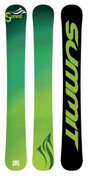 Summit CRZ-T 106 cm 3D Full Rocker Trick Skiboards GR