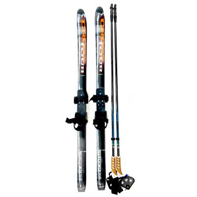 XC Skis- whitewoods-117cm-bindings-poles