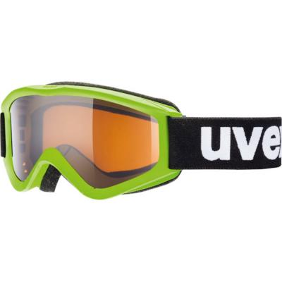 Uvex Speedy Pro Kid's Goggles Lightgreen/Lasergold