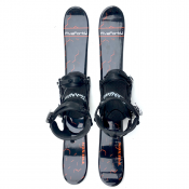 Snowjam 90cm Phenom Skiboards w. Snowboard bindings 2019