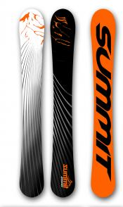 Summit ZR 88 cm Skiboards with Atomic L10 Release Bindings NEW