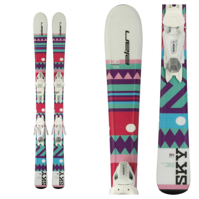 Elan Sky QT Girl's Skiboards with bindings