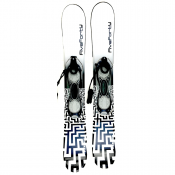 Snowjam Panzer WB 90cm Skiboards with Fixed Ski Boot Bindings