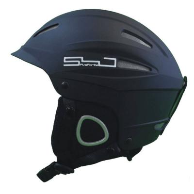 Snowjam Neptune Ski Helmet Matte Black 2019