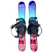 Snowjam Panzer 90cm Skiboards with Technine Snowboard Bindings 2019