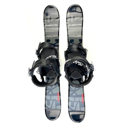 Snowjam skiboards titan 90cm with technine snowboard bindings