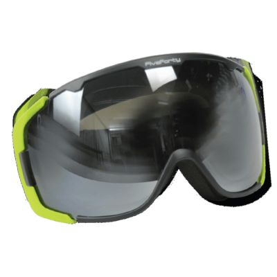 540 Snowjam Glowstick Smoke Mirrored Lime Frame Goggles
