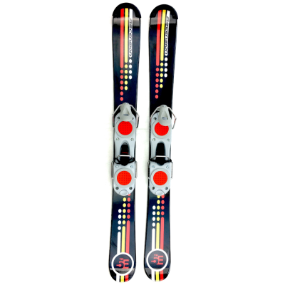 5th Element Ascension 99 cm skiboards skiblades with Fixed Ski Boot Bindings