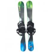 Summit Invertigo 118 cm Skiboards Rocker/Camber with Technine Snowboard Bindings