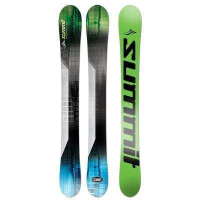 Summit Invertigo 118cm 3D Rocker/Camber Skiboards