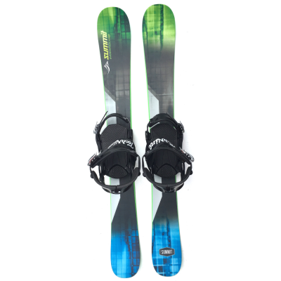 Summit Invertigo 118 cm Skiboards Rocker/Camber with Technine Snowboard Bindings