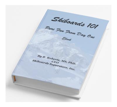 Skiboards 101: Pure Fun Ebook
