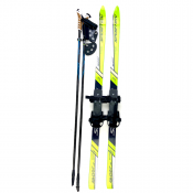 Sporten Kids Cross Country skis bindings/poles