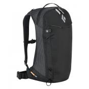 Black Diamond Dawn Patrol 15L Backpack black back